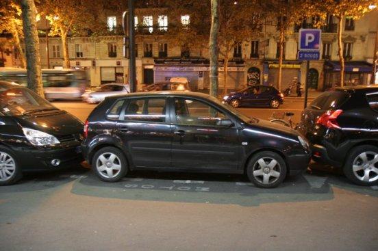 zugeparkt